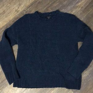 Navy sweater